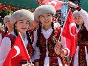 Dünya çocukları Antalya'da buluştu