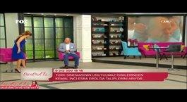 Ünlü oyuncu Kemal İnci evlilik programında
