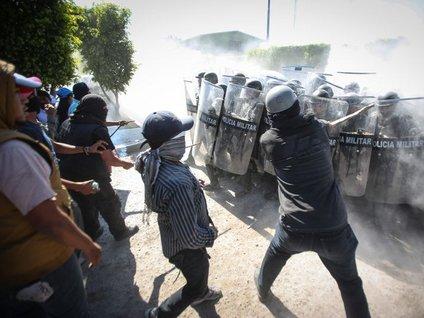 Meksika'da çatışma