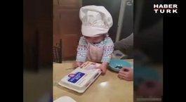 En sevimli aşçı!