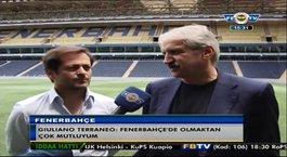 Fenerbahçe sportif direktörü Giuliano Terraneo'nun ilk açıklamaları