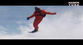 Gökyüzünde Snowboard!