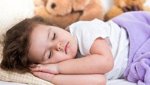Çocuklarda ideal uyku süresi...