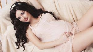 Hamile makyajında yüz boyutlandırma